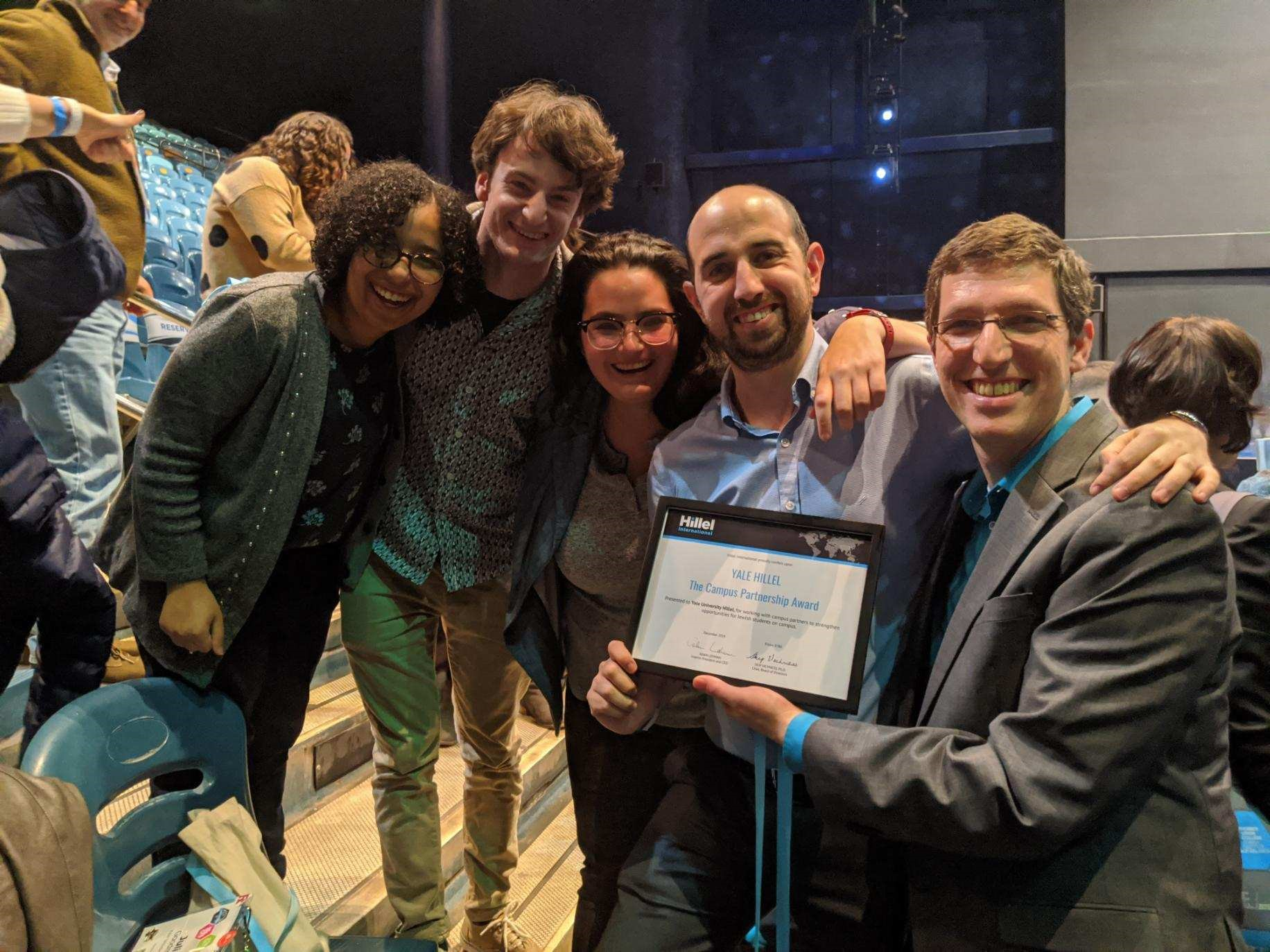 Slifka Center Awarded The Campus Partnership Award
